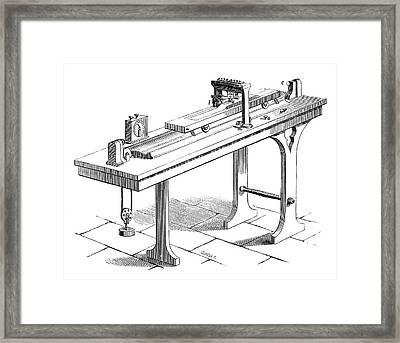 Bonelli Telegraph Framed Print