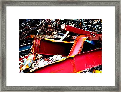 Framed Print featuring the photograph Bones IIi by Christiane Hellner-OBrien