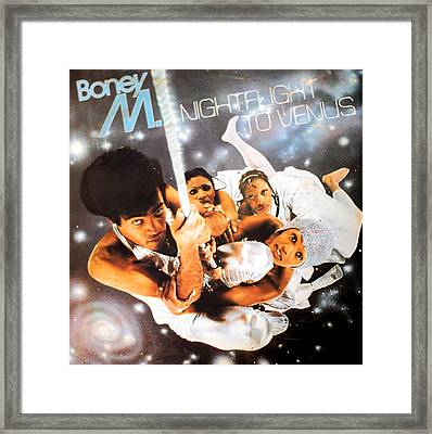 Boney M Night Flight To Venus Framed Print