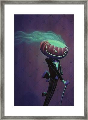 Mister Jack Framed Print