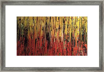Bonfire Framed Print by Lisa Williams
