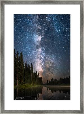 Bonfire Of The Stars Framed Print