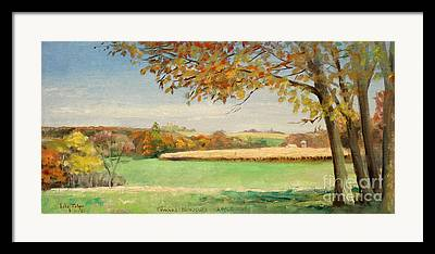 Daviess County Paintings Framed Prints