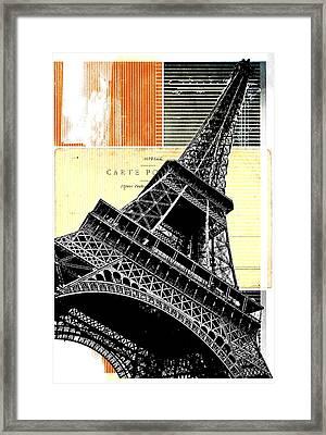 Bonjour Paris  Framed Print by Steven  Taylor
