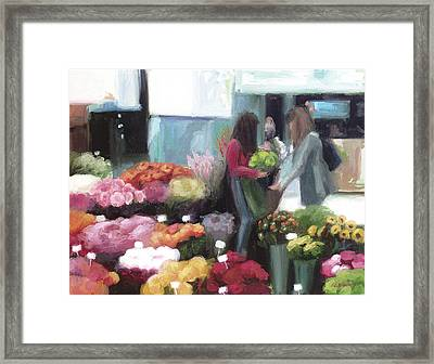 Bonn In Bloom Framed Print