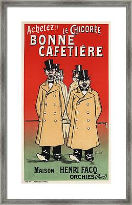 Bonne Cafetiere Framed Print by Gianfranco Weiss