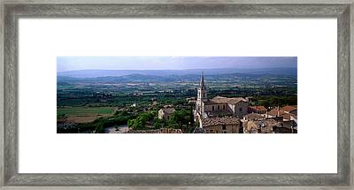 Bonneiux, Provence, France Framed Print by Panoramic Images