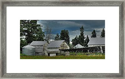 Bonners Ferry Farm Framed Print