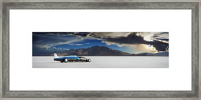 Bonneville 608 Framed Print by Keith Berr