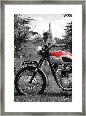 Bonneville Framed Print