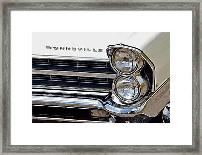 Bonneville Framed Print by Frozen in Time Fine Art Photography
