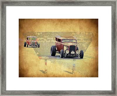 Bonneville Rodz Framed Print