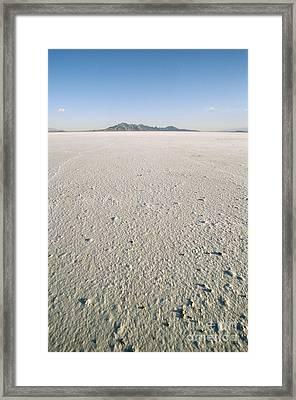 Bonneville Salt Flats Framed Print by Mark Newman