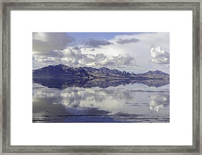 Bonneville Salt Flats Framed Print