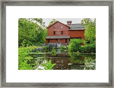 Bonneyville Mill Framed Print