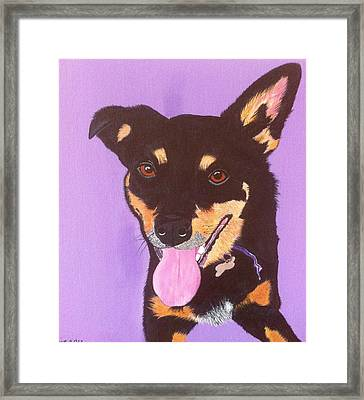 Bonnie Framed Print