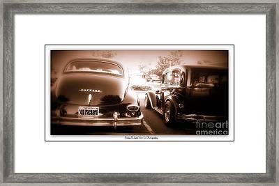 Bonnie N' Clyde Framed Print by Bobbee Rickard