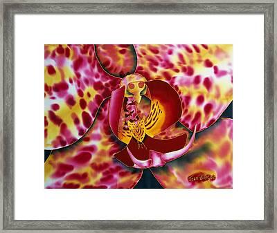 Bonnie Orchid IIi Framed Print by Daniel Jean-Baptiste