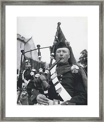 Bonnie Piper Framed Print by Retro Images Archive