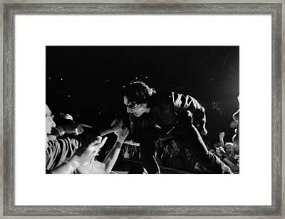 Bono 051 Framed Print by Timothy Bischoff