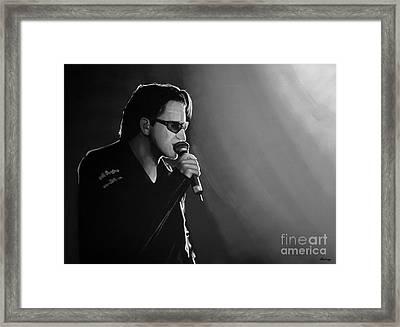 Bono Framed Print by Meijering Manupix