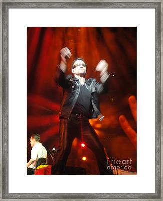 Bono Framed Print by Tara Nightingale