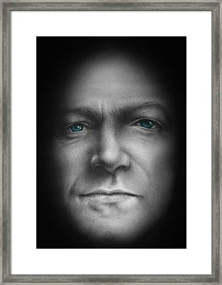 Bono - We Live In One World Framed Print by David Oakley