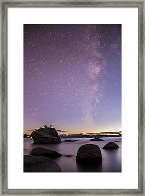 Bonsai Rock Blues Framed Print by Brad Scott