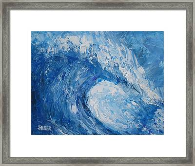 Bonsai Wave Framed Print