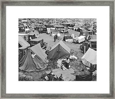Bonus Expeditionary Force Camp Framed Print