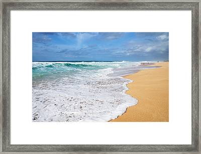 Bonzai Beach Framed Print