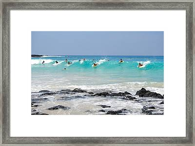 Boogie Up Framed Print