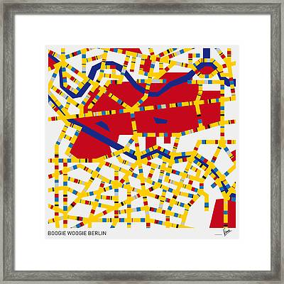 Boogie Woogie Berlin Framed Print by Chungkong Art