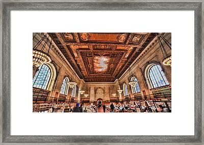 Book Heaven Framed Print by Tony Ambrosio
