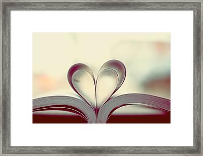 Book Lover Framed Print by Sofia Walker