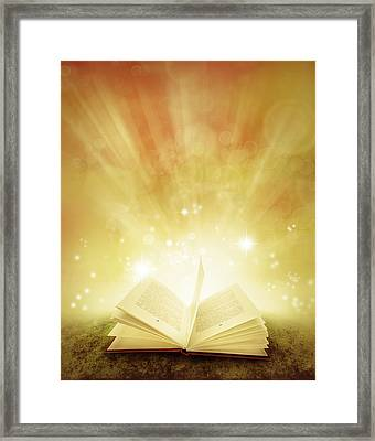 Book Of Dreams Framed Print by Les Cunliffe
