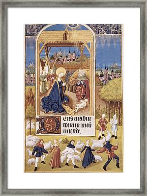 Book Of Hours Of Alonso Fernández Framed Print by Everett