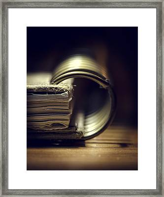 Book Of Secrets Framed Print