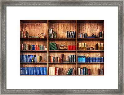 Book Shelf Framed Print by Svetlana Sewell