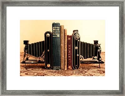 Bookends Framed Print by Jon Woodhams