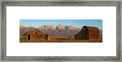 Bookends Framed Print by Max Waugh