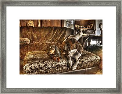 Bookends Framed Print by William Fields