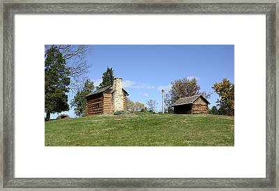 Booker T. Washington Birthplace - Virginia Framed Print by Brendan Reals