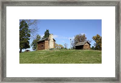 Booker T. Washington Birthplace - Virginia Framed Print