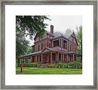 Booker T Washington Home - Tuskegee Alabama Framed Print by Mountain Dreams