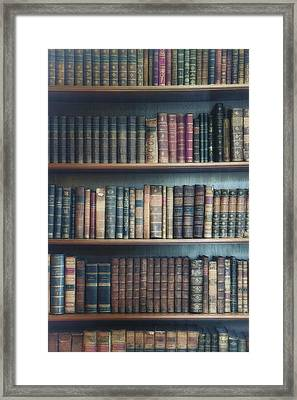 Bookshelf Framed Print by Joana Kruse