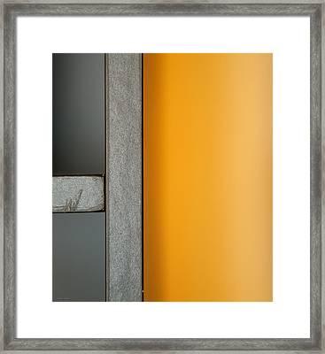 Bookshelf Framed Print by Theresa Tahara