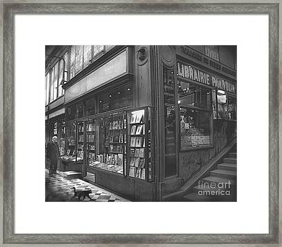 Bookstore Framed Print