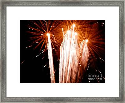 Framed Print featuring the digital art Boom Boom by Angelia Hodges Clay