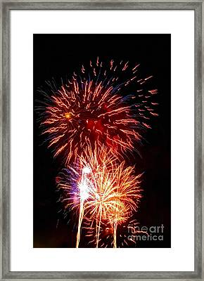 Boom Boom Out Go The Lights Framed Print by Kip Krause